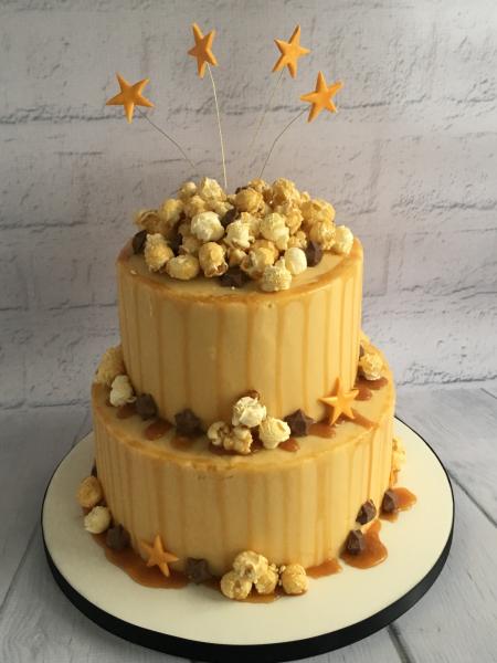 Caramel-and-Popcorn-cake