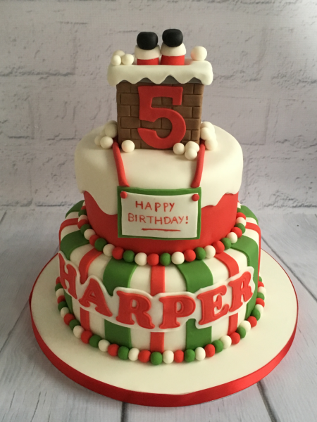 Christmas-birthday-cake