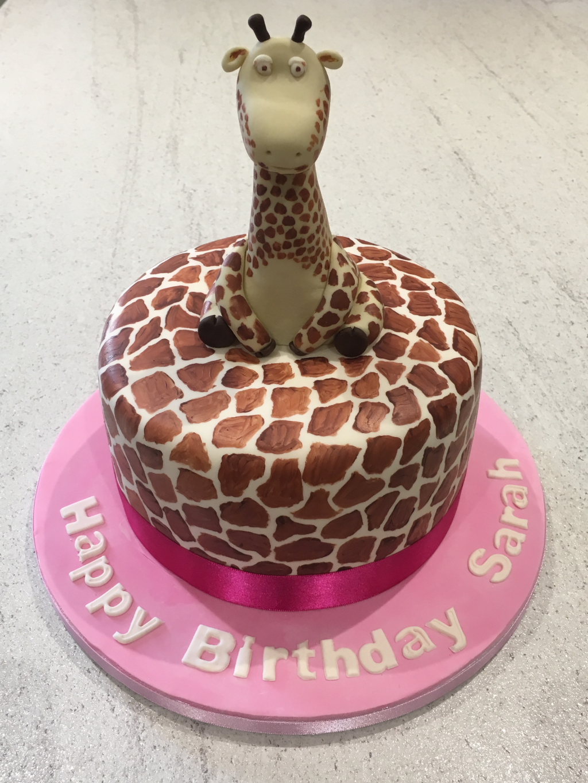 Giraffe-cake