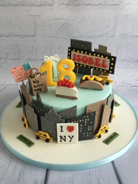 New-York-themed-cake