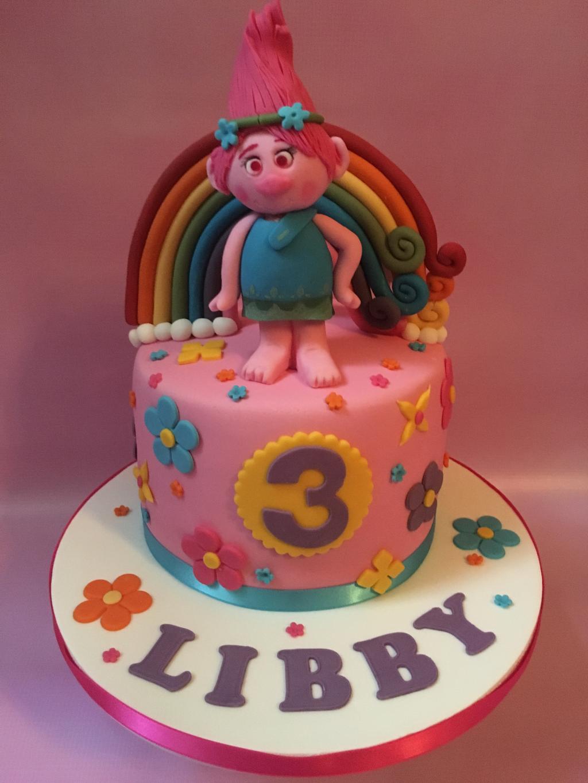 Trolls-cake