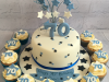 70-star-cake-with-matching-cupcakes