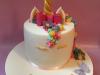 Fondant-unicorn-with-bow-cake