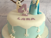 Frozen-Olaf-and-Elsa-cake
