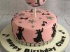 Glitterball-and-dancing-cake