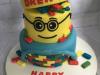 Lego-head-cake