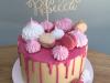 Meringue-and-macaron-buttercream-drip-cake