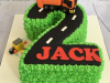Number-2-cake-with-Rubbish-Lorry