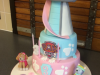Paw-Patrol-tower-cake-with-Skye-and-Everest