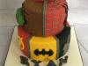 Superhero-two-tier-cake