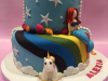 Two-sided-cake-unicorns-and-mermaid-side