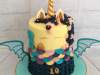Unicorn-dragon-and-mermaid-cake