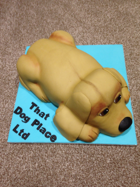 Dog-carved-cake-for-shop-opening