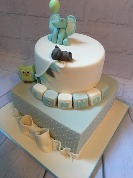 Elephant-Christening-cake