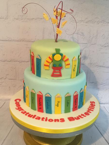 Nursery-Graduation-cake