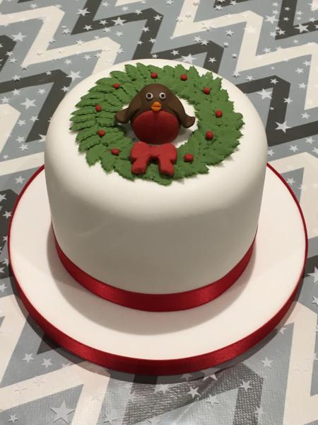 Robin-Christening-cake