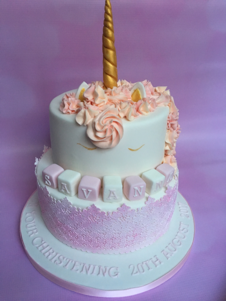 Unicorn-Christening-cake