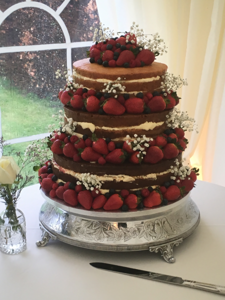 Berries-Naked-Wedding-Cake