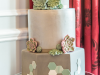 Succulent-Grey-wedding-cake